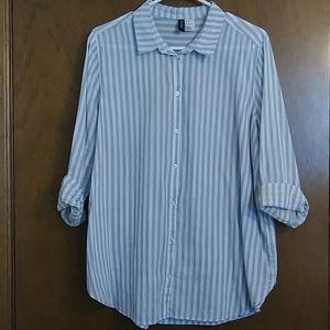 H&M pin striped Shirt